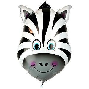 Zebra Animal Large Helium Balloons in Kuwait